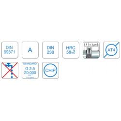 Precision Drill Chuck Adaptor DIN 69871 SK30 Form A B12 - 40