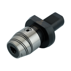 Precision Keyed Drill Chuck  VDI 20 Form A (0,5-8) -  Central coolant