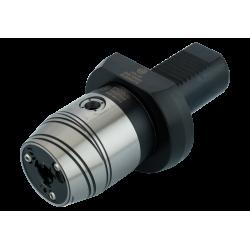 Precision Keyed Drill Chuck  VDI 30 Form A (3,0-16) -  Central coolant via coolant nozzles